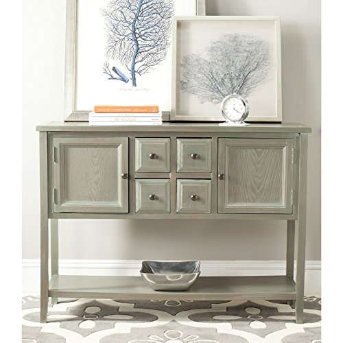 French Country Sideboard - Safavieh American Homes Collection Charlotte French Grey Sideboard