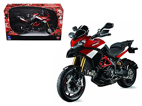 Ducati Multistrada 1200 S Pikes Peak Motorcycle 1/12 Model by New Ray - New Ducati Motorcycle