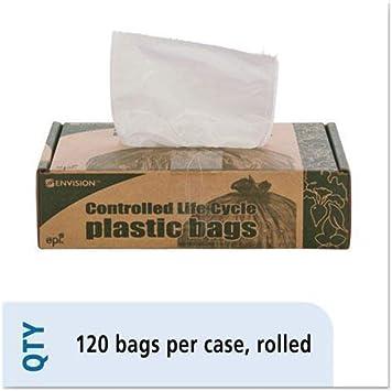 Biodegradable Trash Bags,13 Gal.70 ml,24