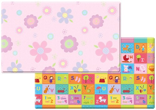 Dwinguler Eco-friendly Kids Play Mat – Flower Garden Large
