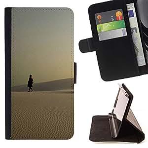 For Sony Xperia Style T3 Case , Naturaleza Hermosa Forrest Verde 123- la tarjeta de Crédito Slots PU Funda de cuero Monedero caso cubierta de piel