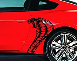 Amazon com: COBRA SNAKE HEAD Body Car Decal - Vinyl Graphics