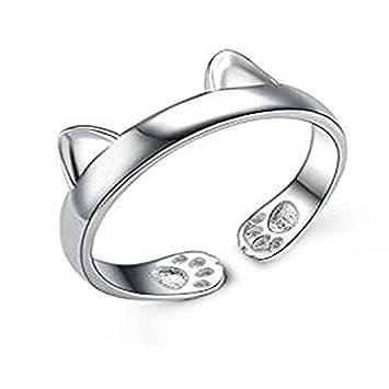 fc0626fb1a2e00 Outflower 指輪 リング レディース ステンレス 人気 カップル オープンリング 調節可能 キラキラ 贈り物 安い フリーサイズ プレゼント