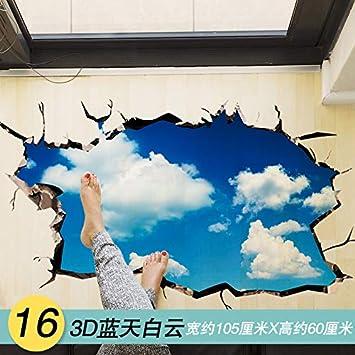 Flat Waterproof Wall Paste 3D Three-Dimensional Wall Sticker Star ...