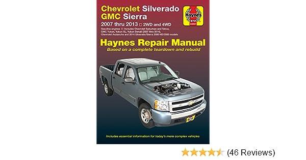 amazon com haynes 24067 chevy silverado gmc sierra repair manual rh amazon com 2005 GMC Yukon Denali 2006 GMC Yukon Denali