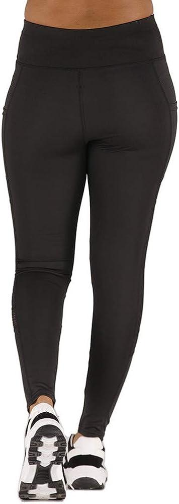 DORIC Basic Slip Shorts Yoga Pants for Woman,Tummy Control /& Compression Workout Running Sports Fitness Yoga Leggings