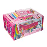 JoJo Siwa Arts & Crafts Treasure Box - 1LB Keepsake Box Packed with Rhinestones, Stationery, Stickers & More