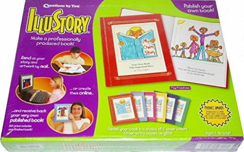 illustory write and illustrate your own book