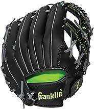 Franklin Sports Field Master Midnight Series Baseball Glove-Right Handed Thrower