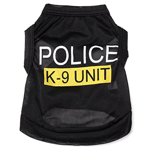 Woman In Labour Halloween Costume (Dog - Police Shirt Costume Tshirt Large Dogs T-Shirts - Dog For - 1PCs)