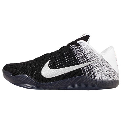 reputable site 75e94 c39d9 Galleon - NIKE MEN S KOBE XI ELITE LOW BASKETBALL SHOES, SNEAKERS (9, WHITE  BLACK-COURT PURPLE)