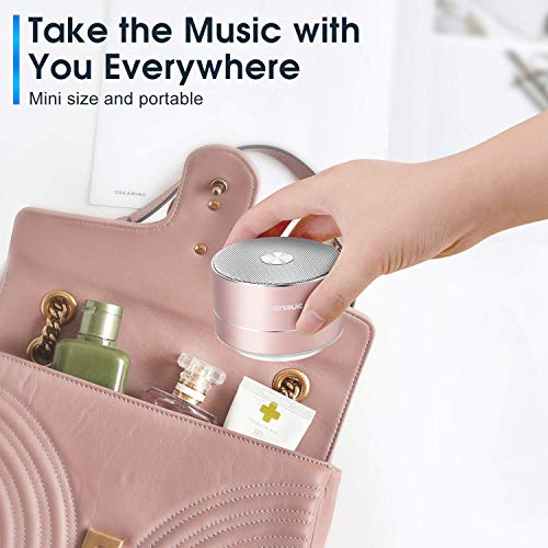 A2 LENRUE Portable Wireless Bluetooth Speaker with Built-in-Mic,Handsfree Call,AUX Line,TF Card,HD Sound and Bass for…