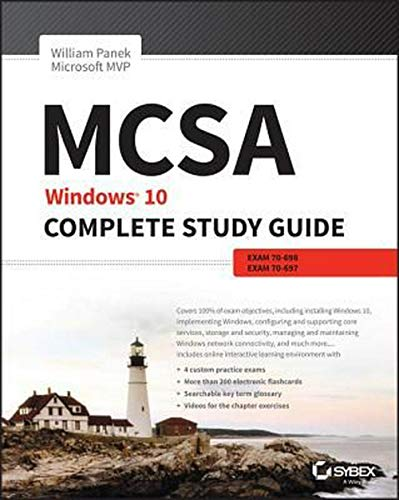Top recommendation for windows 10 certification study guide