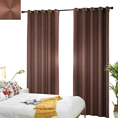 (Abstract Thermal Insulating Blackout Curtain Graphic Design of a Round and Radial Shape with Ombre Effect Industrial Modern W84 x L84,Suitable for Bedroom Living Room Study, etc.)