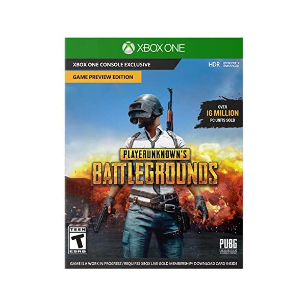 Xbox One X 1TB Console - PLAYERUNKNOWN'S BATTLEGROUNDS Bundle [Digital Code] (Discontinued) 4