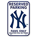 MLB New York Yankees 11-by-17 inch Sign