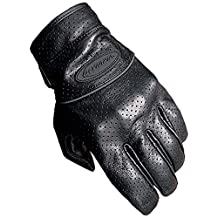 Olympia Sports Men's Perforated Full Throttle Gloves (Black, X-Large)