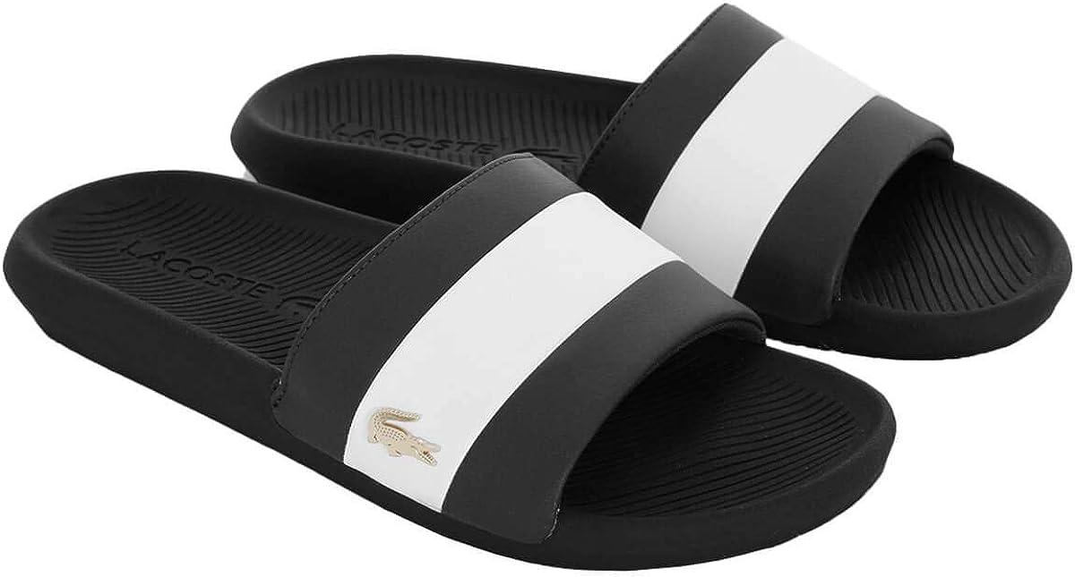 Lacoste 2020 Croco Slide 120 3 US CMA Tongs Confortables et /él/égantes pour Homme