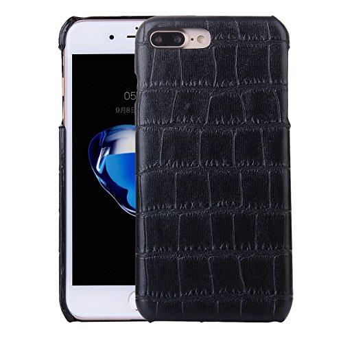 iPhone 7 Plus Hülle, Moonmini® Krokodil Getreide Hanyhülle Prämie PU Leder Snap On zurück Schutz Cover für iPhone 7 Plus
