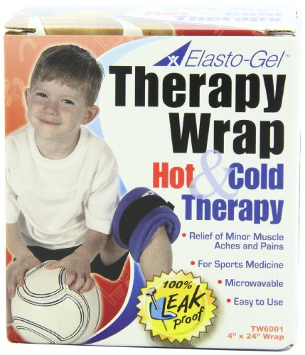 Elasto Gel, Hot/Cold Wrap, 4'' X 24'' by Elasto-Gel
