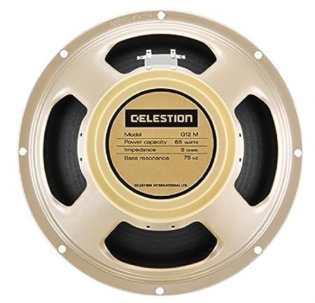 Celestion T5864CELESTION G12M-65 Creamback 12-Inch 8-Ohm 65-Watt Guitar Speaker