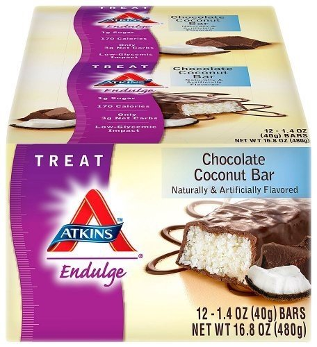 ATKINS ENDULGE BAR SNGL,CH CONUT, 1.4 OZ CASE_12 by Atkins