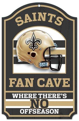 - WinCraft NFL New Orleans Saints 05921010 Wood Sign, 11