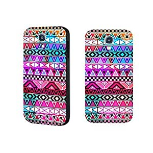 Hipster Colorful Print Chevron Phone Case Geometric Triangle Case Cover for Samsung Galaxy S4 9500 Durable Hard Plastic Skin for Girls