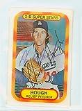 Charlie Hough AUTOGRAPH 1970s Kelloggs 1977 Los Angeles Dodgers