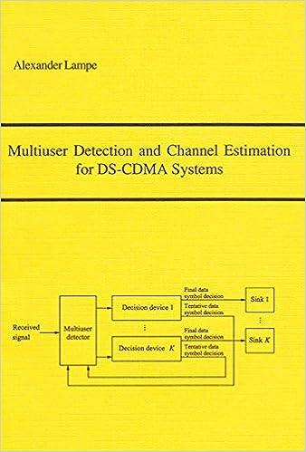 Descargar Torrents Multiuser Detection And Channel Estimation For Ds-cdma Systems Formato Kindle Epub