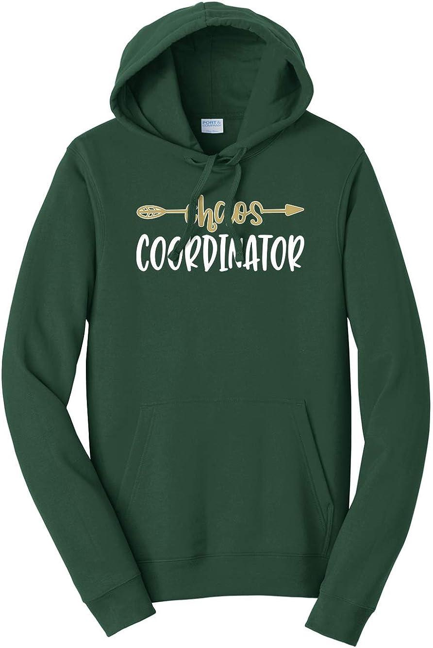 Tenacitee Mens Chaos Coordinator Hooded Sweatshirt