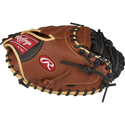- Rawlings Sandlot Series Leather Catcher's Mitt (1 Piece), 33