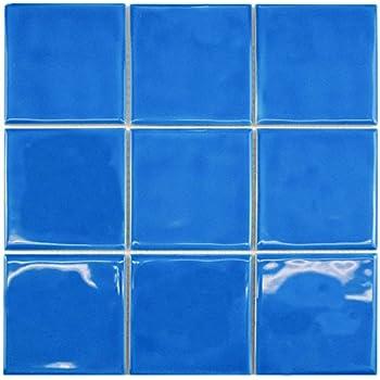 cobalt blue 6x6 tile vogue premium quality 3 x 3 cobalt blue porcelain mosaic tile on