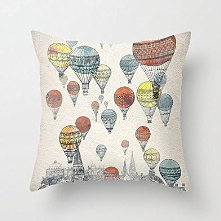 Voyages over Edinburgh Throw Pillow