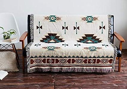 Amazon.com: HOKUGA: manta de algodón bohemio grueso y cálido ...
