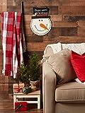 DII Indoor/Outdoor Hanging Snowman Advent