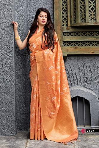 Designer Banarasi Sona Chandi Seta indiano Bollywood Saree Matrimonio Funzione Famiglia Abbigliamento Casual Festa Donne Sari Camicetta 9516