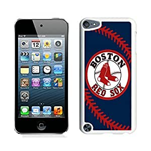 Boston Red Sox White Cool Photo Custom Ipod Touch 5 Phone Case