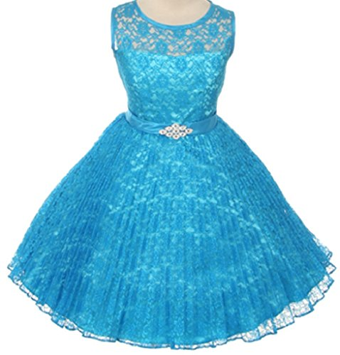 Pleated Satin Top Dress - 4