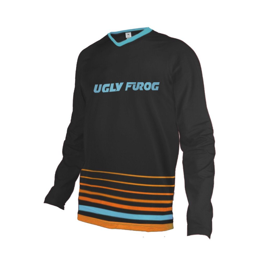 Uglyfrog # 02 2017新作メンズBMX Bike JerseyメンズDownhill MontainバイクTop B077GS3DL4 Medium カラー31 カラー31 Medium