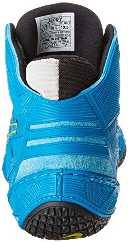 Asics Men's Omniflex-Attack Wrestling Shoe Blue Jewel/Lime/Silver discount visa payment enjoy cheap price perfect sale online E17fwG