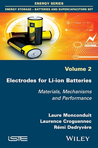 Price comparison product image Electrodes for Li-ion Batteries: Materials,  Mechanisms and Performance (Iste)