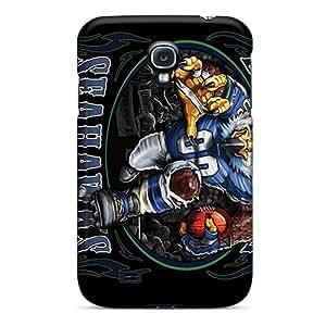 Samsung Galaxy S4 YYU12766cucW Unique Design Trendy Seattle Seahawks Skin Best Hard Phone Cover -CharlesPoirier