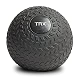 TRX Training Slam Ball, Easy-Grip Tread & Durable Rubber Shell, 8lbs