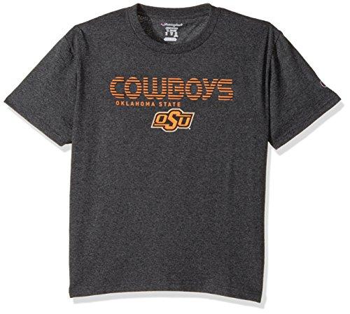 NCAA Oklahoma State Cowboys Youth Boys Jersey T-Shirt 2, Medium, Charcoal (Oklahoma State Cowboys Basketball)