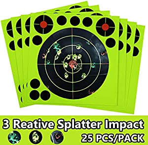 Sweepstakes: GearOZ Airsoft Targets Paper-25 PCS Splatter...