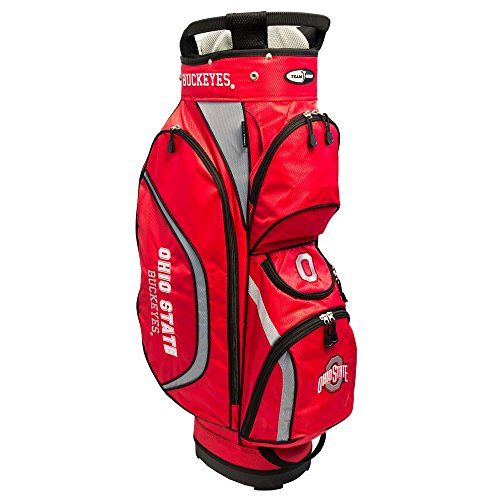 Team Golf NCAA Clubhouse Cart Bag, Ohio State by Team Golf