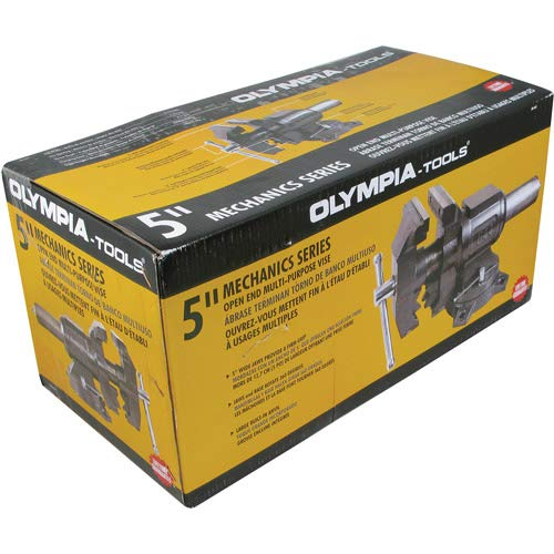 Olympia Tools 5'' Open End Multi-Purpose Vise, 38-644 Olympia Tools 5'' Open End Multi-Purpose Vise, 38-644