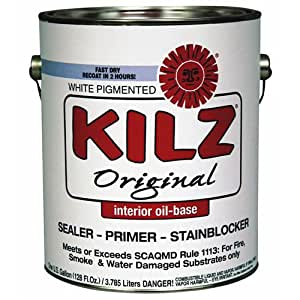 Kilz Original Low Voc Stain Blocking Primer Sealer Oil