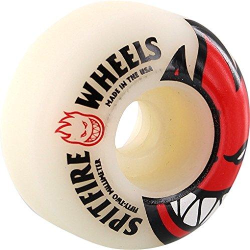Spitfire Bighead 52mm Skateboard Wheels (Set Of 4) (Spitfire Skateboard)